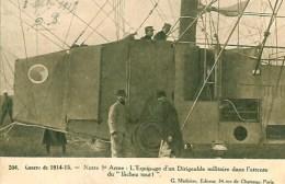 """Guerre 14-18 Notre 5e Arme: L'Equipage D'un Dirigeable Militaire Dans L'attente Du """"Lachez Tout"""" - War 1914-18"""