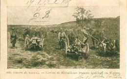 Guerre 14-18 Convoi De Mitrailleurs Prenant Le Départ De WOËVRE - War 1914-18