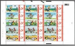 België/Belgique Duostamp 2007 Greg, La Triple Vie D'un Génie (Achille Talon Zig & Puce Constant Souci) - Volledige Vellen