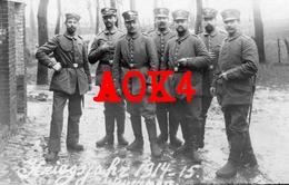 ANTWERPEN Flandern 1914 1915 Landsturm Bataillon Marburg Landsturmmütze Duitse Bezetting - War 1914-18