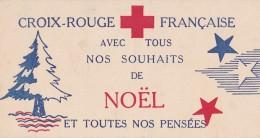 CARTE CROIX ROUGE FRANCAISE COLIS DE NOEL - Documents Historiques
