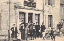 CPA - 88,  FERDRUPT, Cafe De La Gare, J. Muller, Restaurant - Altri Comuni