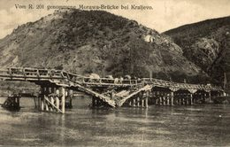 FELDPOST BRIEFSTEMEL    Serbie - Vom R.201 Genommene Morawa Brucke Bei KRALJEVO SERBIEN   Serbien Serbia Srbija - Serbia