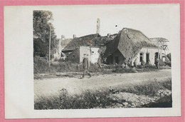West-Vlaanderen - Flandre Occidentale - Carte Photo - Foto - WOUMEN - DIKSMUIDE - Ruines - Guerre 14/18 - Carte C43 - Diksmuide