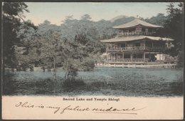 Sacred Lake And Temple Shiogi, Kyōto, 1904 - Ettlinger & Co Postcard - Kyoto