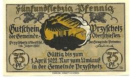 1922 - Germania - Oberschlesien Notgeld N17, - [11] Emissioni Locali