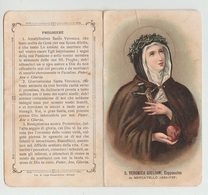 SANTINO - IMAGE PIEUSE - DEVOTIONAL IMAGES - HEILIGES BILDER - ŚWIĘTY OBRAZ - SANTA VERONICA GIULIANI - Santini