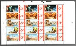 België/Belgique Duostamp 2008 Arleston Univers (Carrère Floch Mourier Pellet Tarquin) - Volledige Vellen