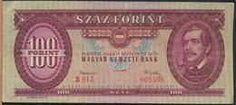 °°° HUNGARY - 100 FORINT 1962 °°° - Ungheria