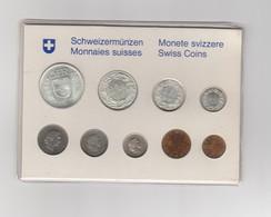 Schweizermünzen - Münzsatz 1967 / Teils Silber - Switzerland