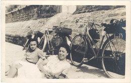 Sports & Loisirs – Carte-photo Femmes & Vélos Bord De Route   ( SPO ) - Cyclisme