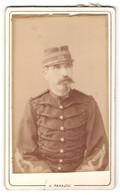 Photo H. Panajou, Bordeaux, Portrait De Soldat En Uniforme Avec Kragennummer 144 - Personas Anónimos
