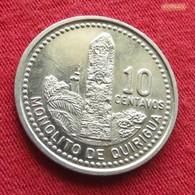 Guatemala 10 Centavos 1997 KM# 277.6 - Guatemala