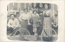 Sports & Loisirs – Carte-photo Famille, Enfant & Vélo   ( SPO ) - Cyclisme
