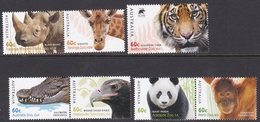 Australia ASC 3032-3038 2012 Australian Zoos, Mint Never Hinged - Neufs