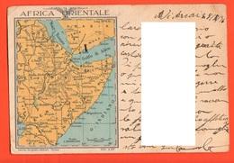 AOI Africa 1936 Franchigia Posta Militare 105  X Provincia Vicenza - Franchise