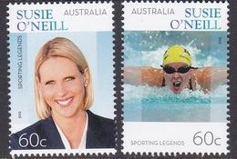 Australia ASC 3043-3044 2012 Sporting Legend Susie O'Neil, Mint Never Hinged - 2010-... Elizabeth II
