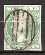 Spagna 1852 Unif.15 O/Used VF/F - 1850-68 Regno: Isabella II
