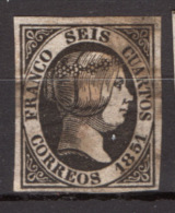 Spagna 1851 Unif.6 O/Used VF/F - Gebraucht
