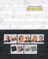 Australia ASC 3055-3064 2013 Australian Legends Of Music Set MNH - Ungebraucht