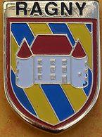 E E   220  )..ECUSSON....RAGNY... Château Médiéval Situé à Savigny-en-Terre-Plaine, Dans L'actuel Département De L'Yonne - Cities