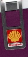 Bureau (objets Liés) > Non Classés Trombone Publicitaire Monte Shell - Autres Collections