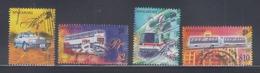 Singapore 1997 Transportation, Taxi, Bus, Trains High Value Definitives (CTO) - Singapore (1959-...)