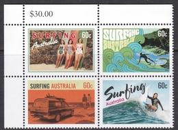 Australia ASC 3071-3074 2013 Surfing Australia, Mint Never Hinged - 2010-... Elizabeth II