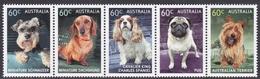 Australia ASC 3075-3079 2013 Top Dogs, Mint Never Hinged - 2010-... Elizabeth II