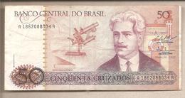 Brasile - Banconota Circolata Da 50 Cruzados P-210b - 1987 - Brazil
