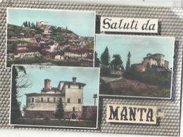 MANTA,VEDUTE DIVERSE.VIAGGIATA .1967.FG-3807.M - Cuneo