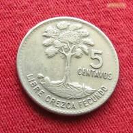 Guatemala 5 Centavos 1968 KM# 266 - Guatemala