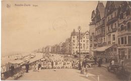 Knocke-Zoute, Digue, Belgium, 1930s Used Postcard [21611] - Knokke