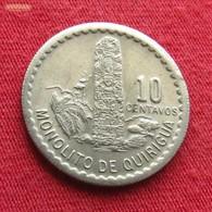 Guatemala 10 Centavos 1977 KM# 277.1 - Guatemala