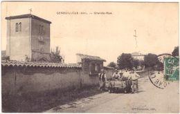 Genouilleux Grande Rue - France