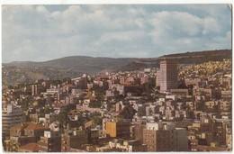 Israel, HAIFA, Hadar Hacarmel, Used Postcard [21614] - Israel