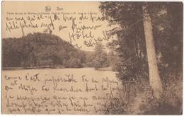 Belgium, Spa, Partie Du Lac De Warfaaz Et Chateau Heid Du Pouhon A M. Jean De Crawhez, 1931 Used Postcard [21615] - Spa
