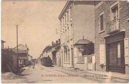 St Didier S Chalaronne Mairie Et Grande Rue - Autres Communes
