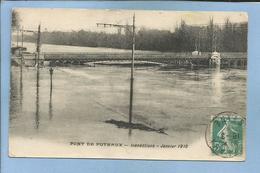 Pont De Puteaux (92) Inondations Janvier 1910 - 2 Scans 10-03-?? - Puteaux