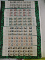 6 Bandes Neufs 1966 - S P Fournier,F Mansart,M Proust,G Faure,E Metchnickoff,H Taine - Coté 216€ Y&T N°1470 à 1475 - Colecciones Completas
