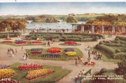 AQ65 Italian Gardens And Lake Stanley Park, Blackpool By Brian Gerald - Blackpool