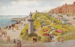 AQ65 Promenade Gardens, N.S. Blackpool By Brian Gerald - Tram - Blackpool