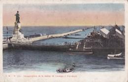 AQ65 Inauguration De La Statue De Lesseps A Port Said - Port Said