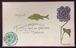 France Carte Postale Avec Type Blanc N°111 5c De Londres Pour Paris Affranchie Avec Timbre Français - 1900-29 Blanc