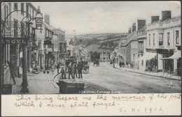 Coinage Hall Street, Helston, Cornwall, 1902 - Frith's U/B Postcard - England
