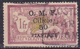 Cilicia, 1920 50pi On 1fr Overprinted - Nr.109 Usato° - Cilicie (1919-1921)