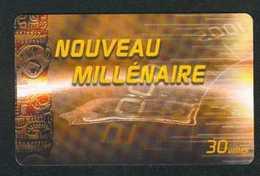 30u Nouveau Millenaire (2) 12/00 - French Polynesia