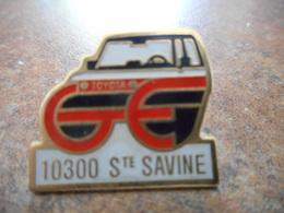 A008 -- Pin's Toyota Sainte Savine - Toyota