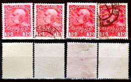 Creta-061 - Emissione 1908-14 (+/o) LH/Used - Carta Patinata E Non Patinata - Senza Difetti Occulti. - Creta