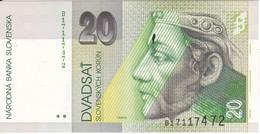 BILLETE DE ESLOVAQUIA DE 50 KORUN DEL AÑO 1993 SIN CIRCULAR-UNCIRCULATED (BANK NOTE) - Eslovaquia